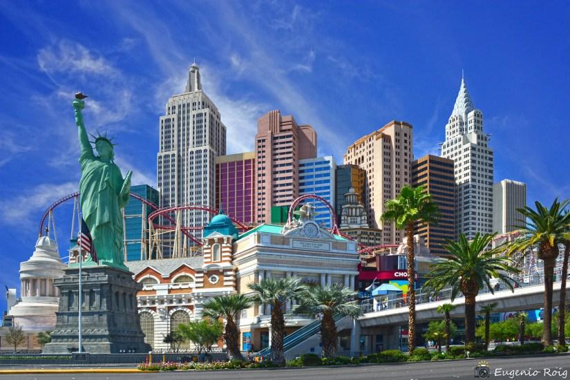 New York-New York. Las Vegas Hotel & Casino.