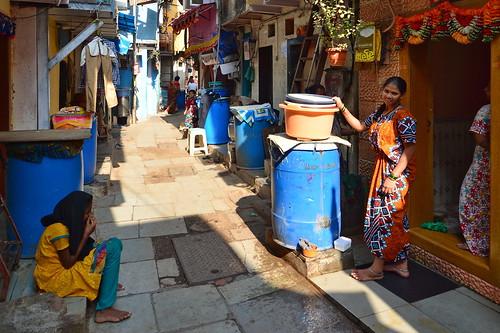 India - Maharashtra - Mumbai - Dharavi Slum - 38