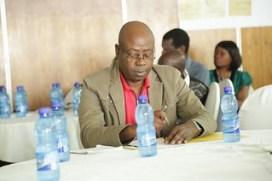 Martin Banda, USAID Malawi Country Mission. Photo credit: Jonathan Odhong'/ IITA.