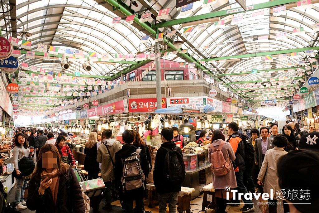 《首尔景点推介》广藏市场:南韩历史最悠久传统市场