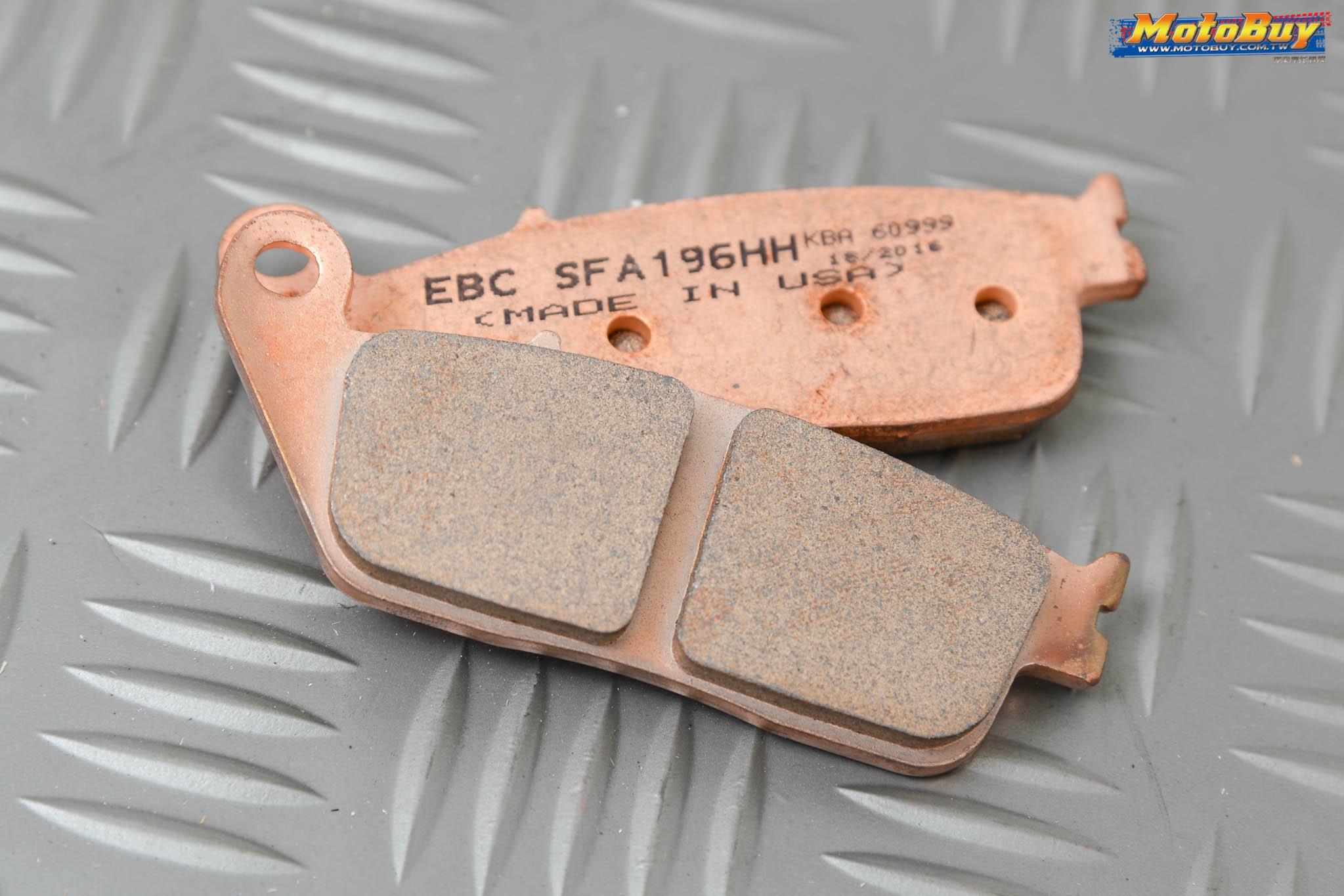 [部品情報] 特殊浮動扣專利置入!?- EBC 勁戰&BwsR專用制動套件   MotoBuy