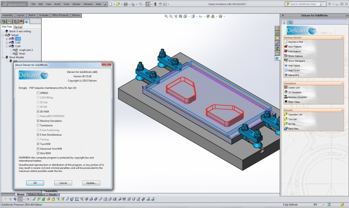 Working with Delcam v20.7.0.29 for SolidWorks 32bit 64bit full