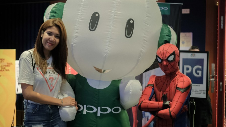 OPPO F3 x Spider Man Homecoming Premier (2 of 4)