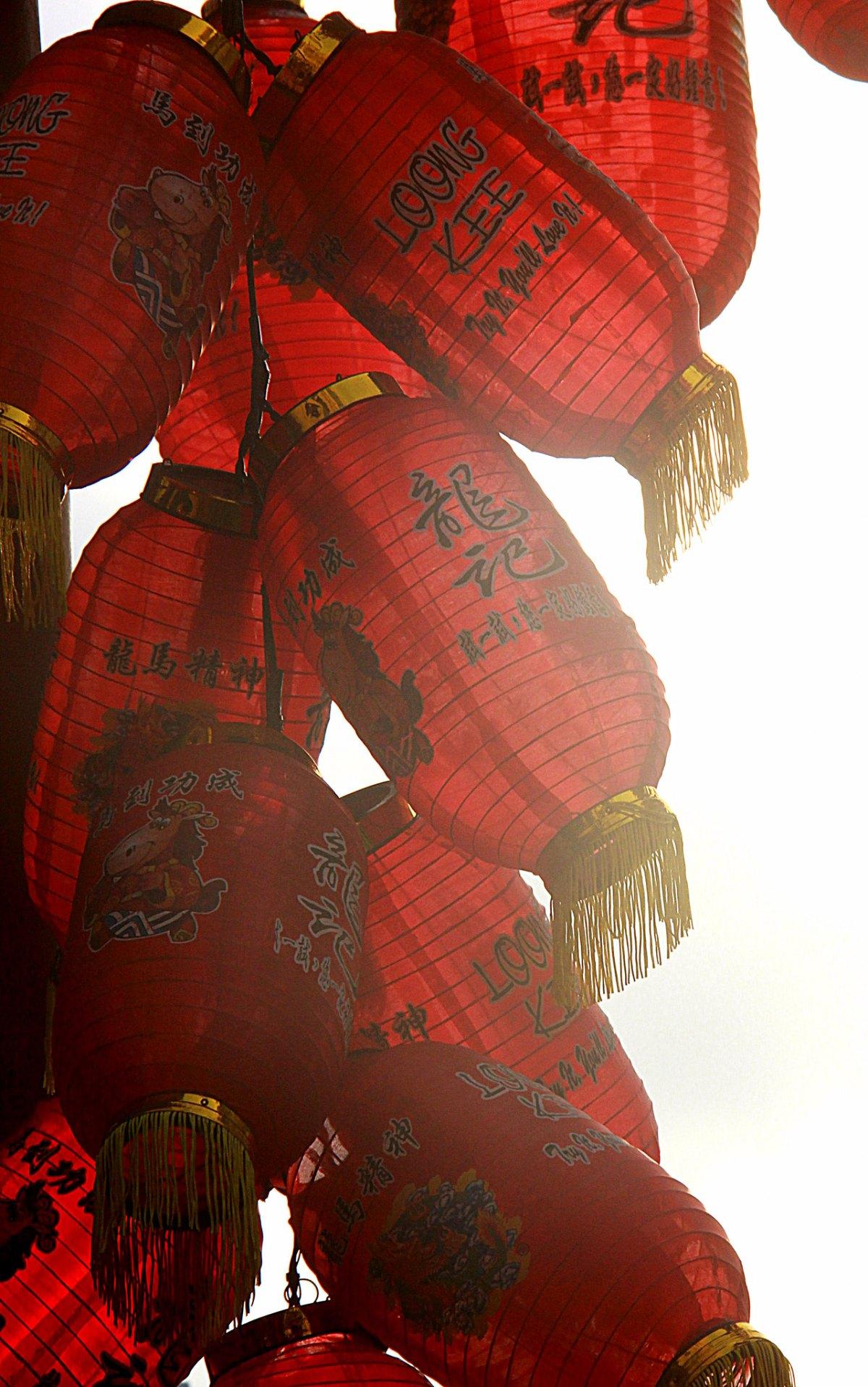 Historic Chinatown in Kuala Lumpur