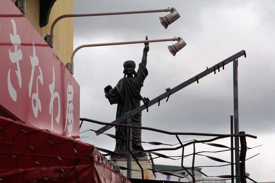 statue liberté chatan okinawa