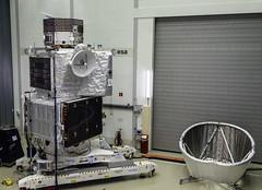 BepiColombo spacecraft stack