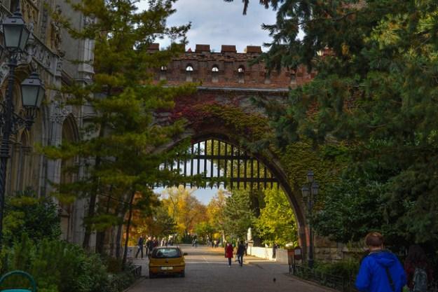 Vajdahunyad Castle Gates