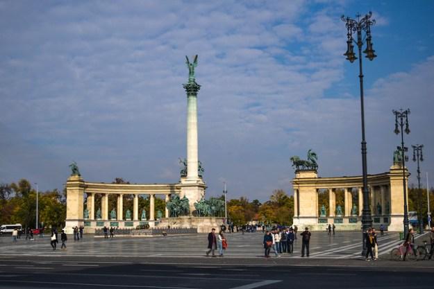 Hero's Square Budapest