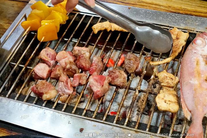 海世界複合式碳烤