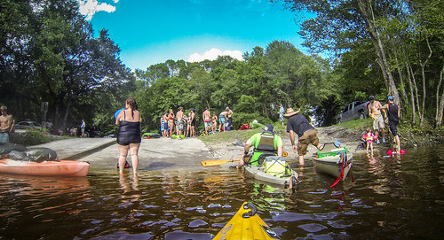 Edisto River Rope Swing and Beer Commercial Float-72
