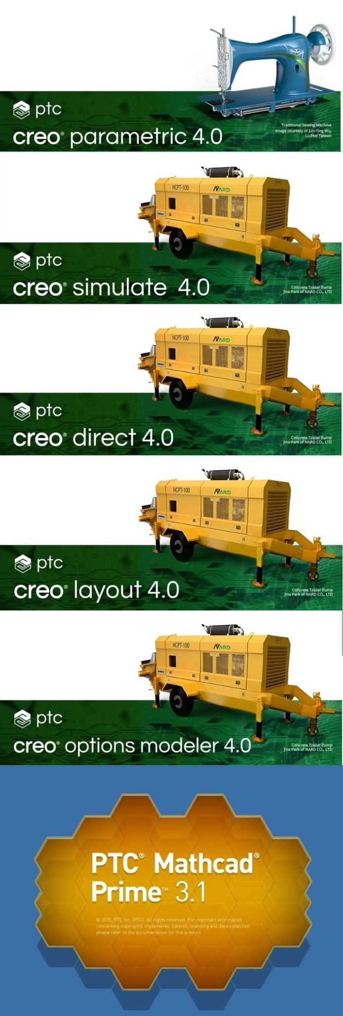 PTC Creo 4.0 F000 full software