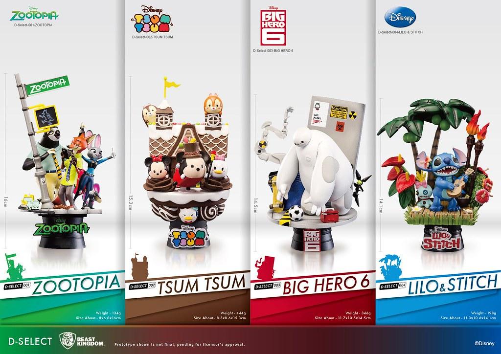 天吶!這太可愛了吧~野獸國全新動畫場景收藏 D-Select 系列 首波登場!!   玩具人Toy People News