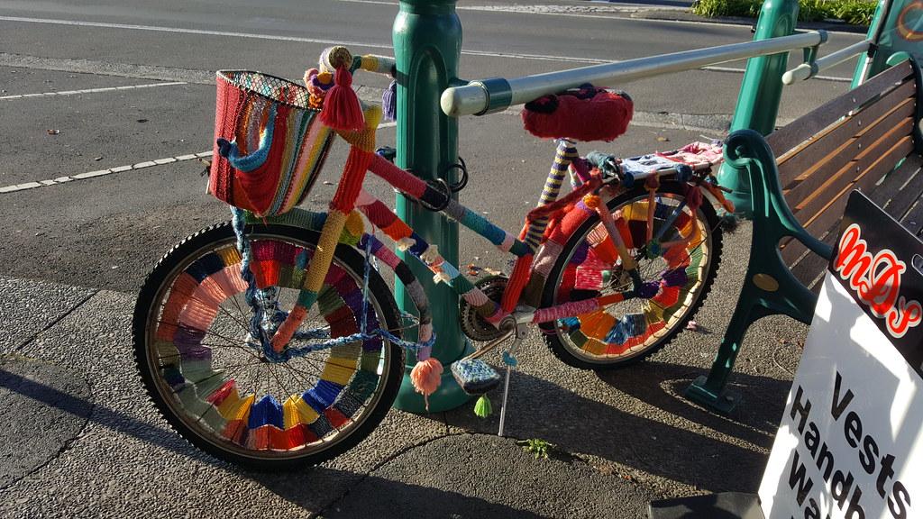 YarnBombed Bicycle