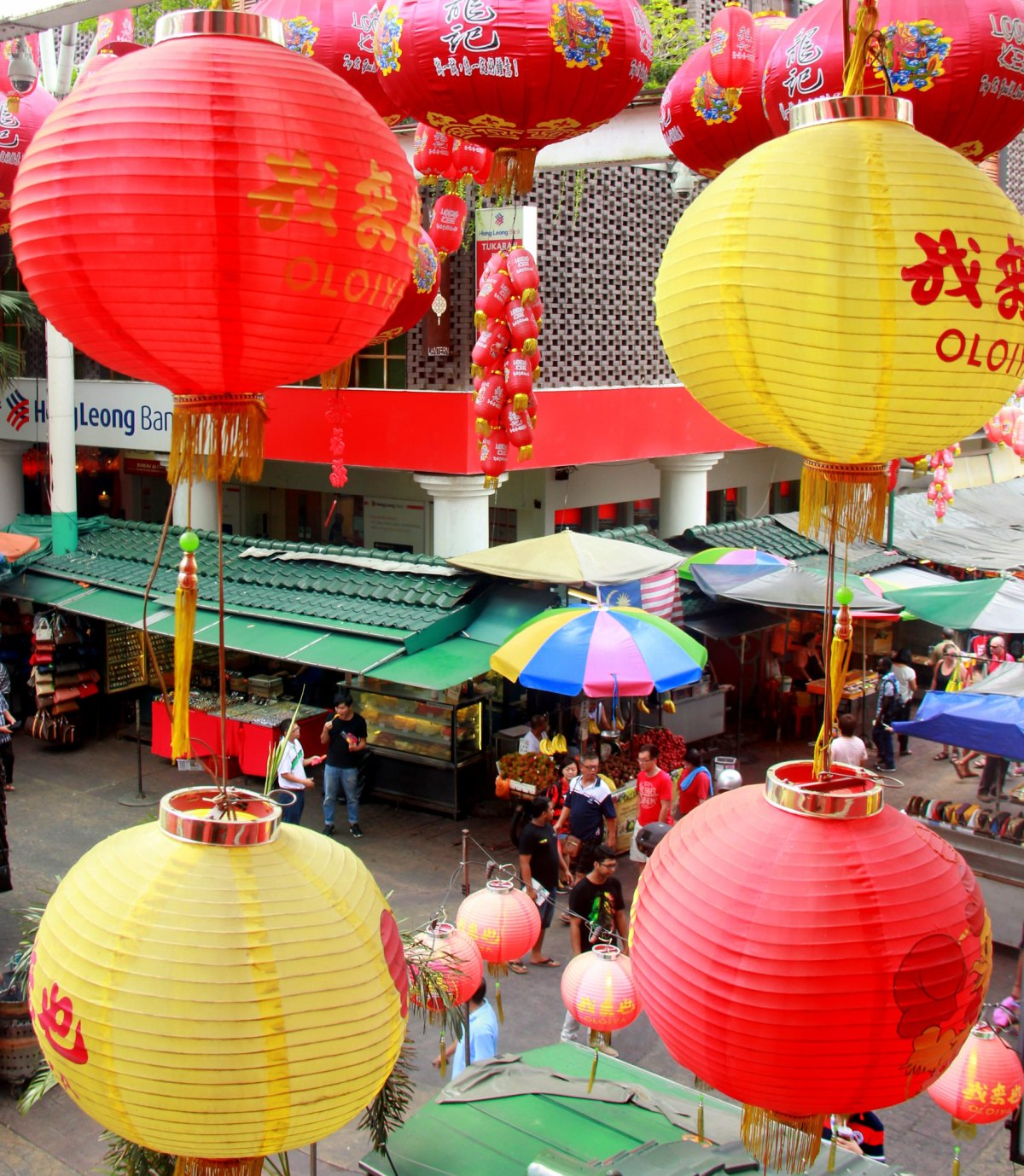 Food in Kuala Lumpur Chinatown is considered the best