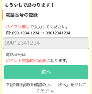 170608 ポイントタウン会員登録手順10