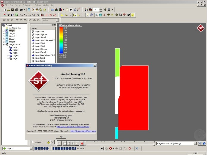 working with MSC Simufact Forming v14.0 64bit full