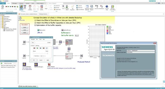 Siemens Tecnomatix Plant Simulation 2017 13.0 x64 full