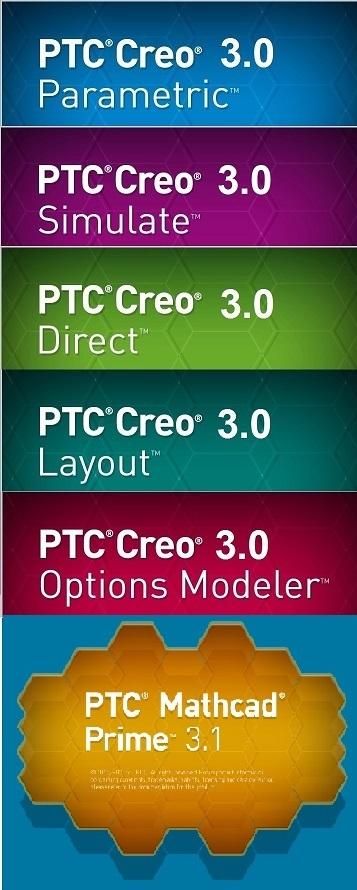 PTC Creo 3.0 M120 32BIT 64BIT full crack