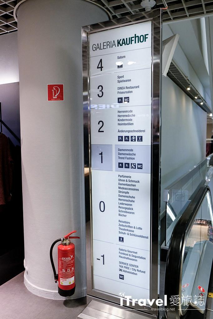 《科隆购物血拼》Galeria Kaufhof 考夫霍夫百货公司:希尔德街与霍赫大街交叉口,Globe Blue环球蓝联退税办理教学