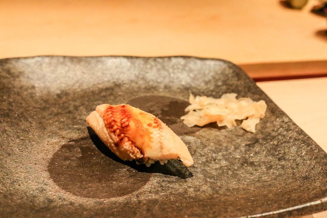 Anago (Japenese salt water eel) sushi