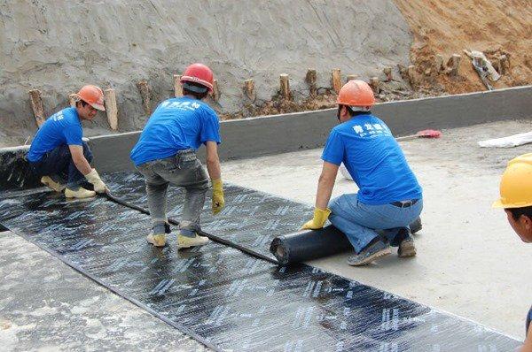 Waterproofing dengan campuran bitumen
