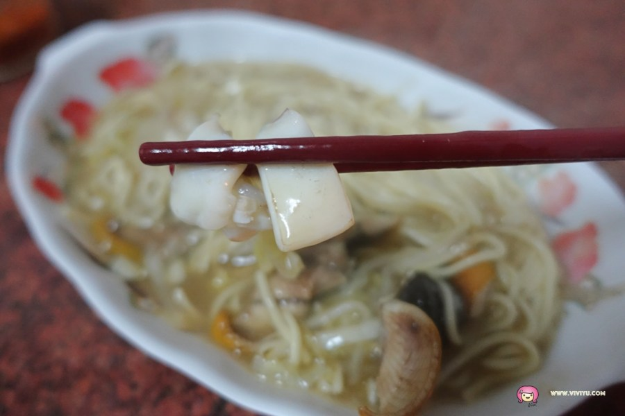 [雲林.美食]斗南翁式鱔魚麵.花枝麵~現點現炒食材新鮮.用料實在口味道地 @VIVIYU小世界