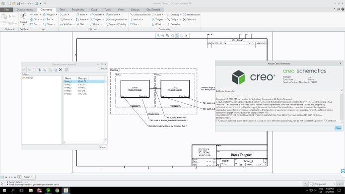 Working with PTC Creo Schematics 4.0 M010 full license