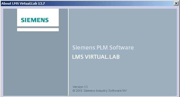 Siemens LMS Virtual.Lab Rev 13.7 64bit