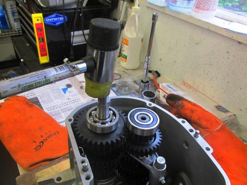 Gentle Tap To Ensure Bearings Are Bottomed Out