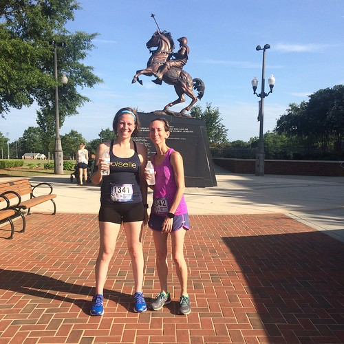 Red, White, and Blue Shoes 5k 2017