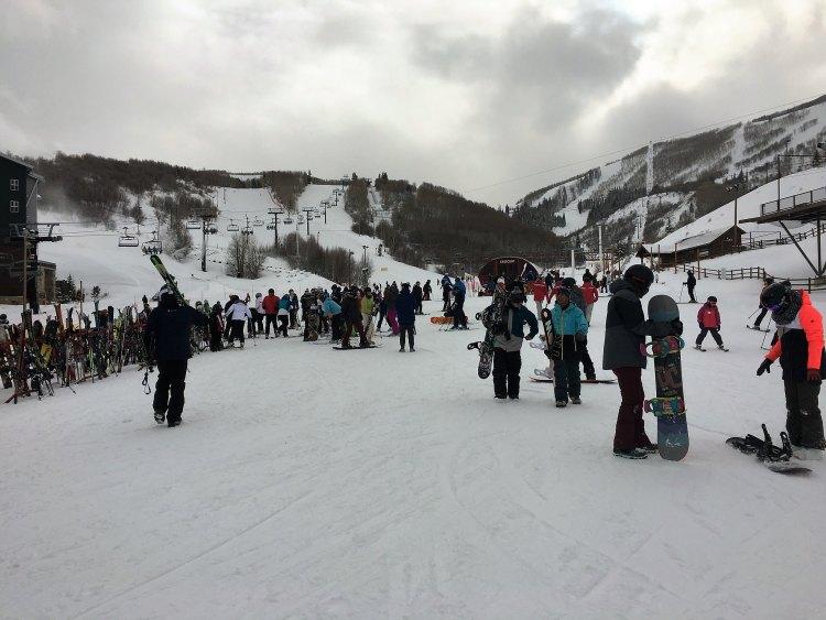 Skiing PCMR