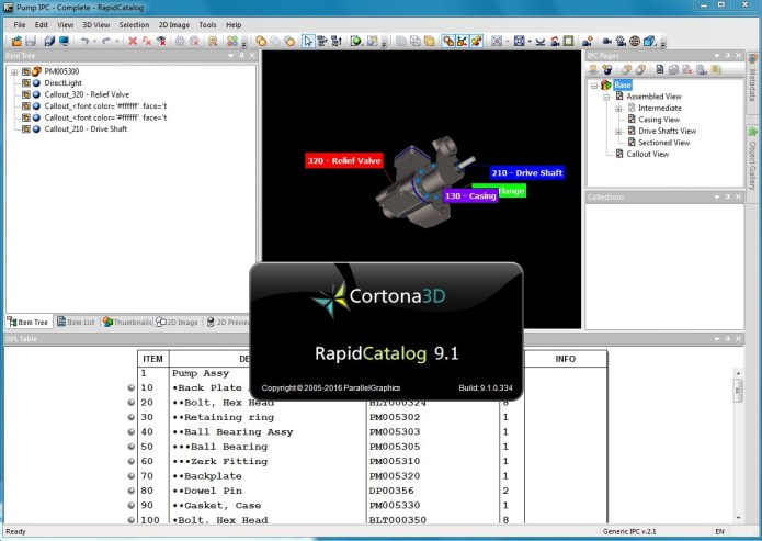 Parallel Graphics Cortona3D Rapidillustrator 9.1 full license