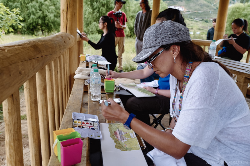 Sketch-Bhutan-Drukasia-Travel-50