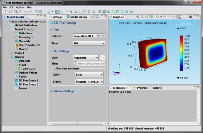 Working with COMSOL Multiphysics 4.1.0.185 x86 x64