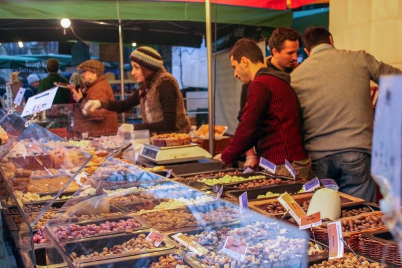 Real Food Market at Kings Cross