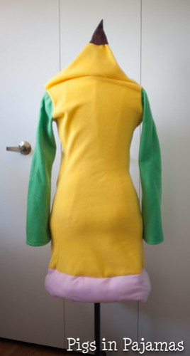 Weepinbell Costume back