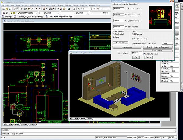 Design with ProgeCAD Professional v11 full license