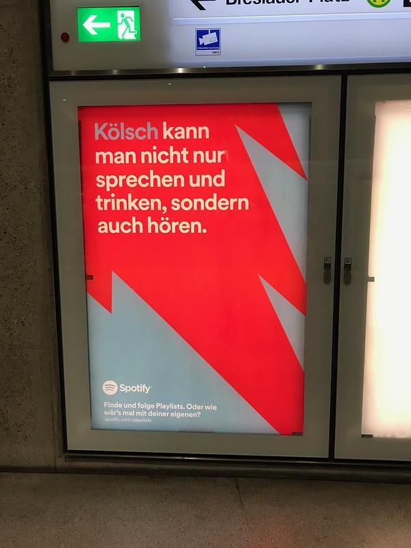 Werbung Spotify Köln 3