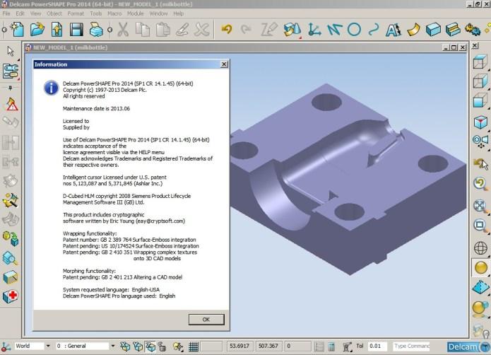 Designing with Delcam PowerSHAPE 2014 SP1 32bit 64bit full