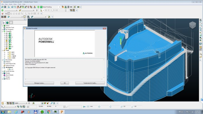 milling with Autodesk Delcam PowerMill 2017 SP1 Win64 full crack