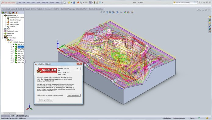 SolidCAM 2012 SP6 for SolidWorks 2010-2013 32bit 64bit full