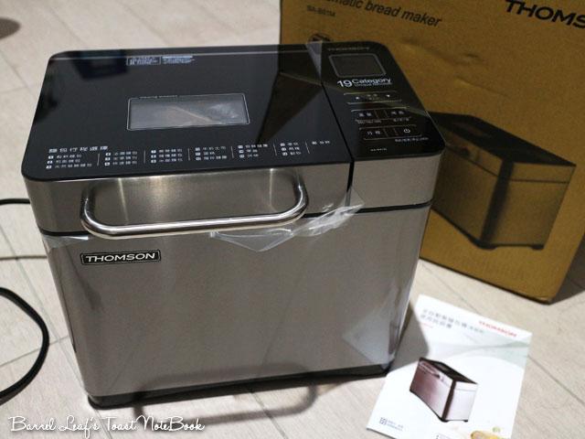【THOMSON】全自動投料製麵包機 SA-B01M 開箱 終於入手第一臺麵包機 | | Barrel Leaf 桶子葉的吐司記