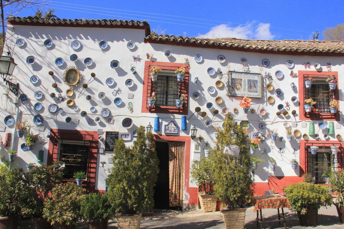 Albaicin in Granada in Spain