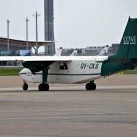 COWI Aerial Survey OY-CKS, OSL ENGM Gardermoen