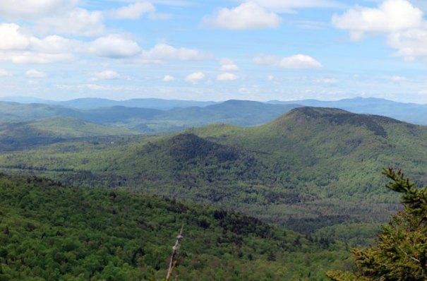 Mt. Morgan View Mt. Webster