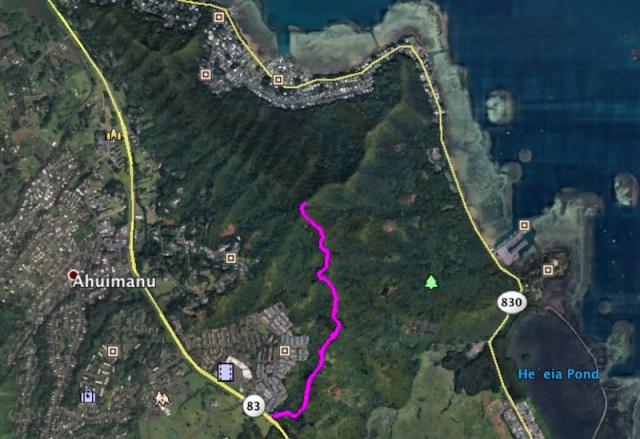 Bunker Trail Google Earth Map