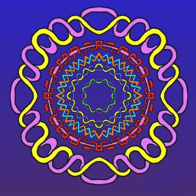 Celtic Knot Mandala 3