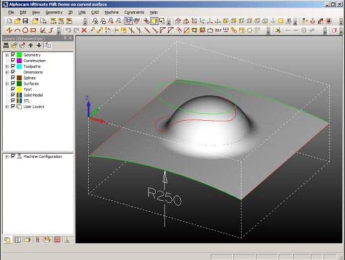 Create toolpath with ALPHACAM v2013 R1 SP2 full license