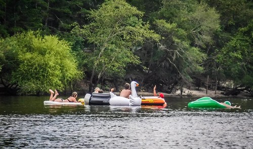 Edisto River Rope Swing and Beer Commercial Float-129