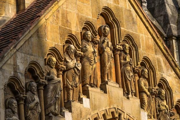 Vajdahunyad Castle Chapel Relief Sculptures